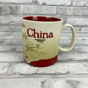 Starbucks 2010 Global Icon Series China 16 oz Mug